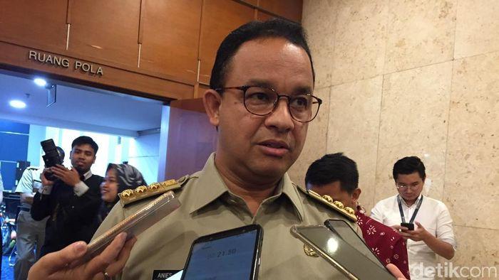 Foto: Gubernur DKI Jakarta Anies Baswedan. (Dwi-detikcom)
