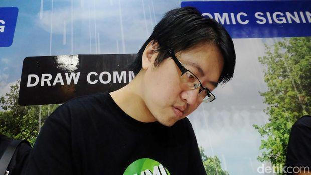 Kreasi Is Yuniarto di Wayang Kulit 'Joker' dan 'Gundala'