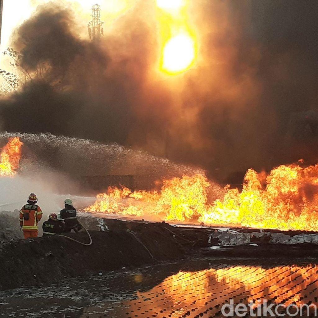 Pipa Pertamina Terbakar, TB Hasanuddin Desak Proyek PT KCIC Dihentikan