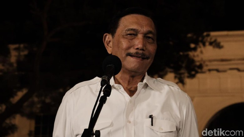 Luhut Dukung Prabowo Jadi Menhan: Kalau Bicara NKRI Satu Basis