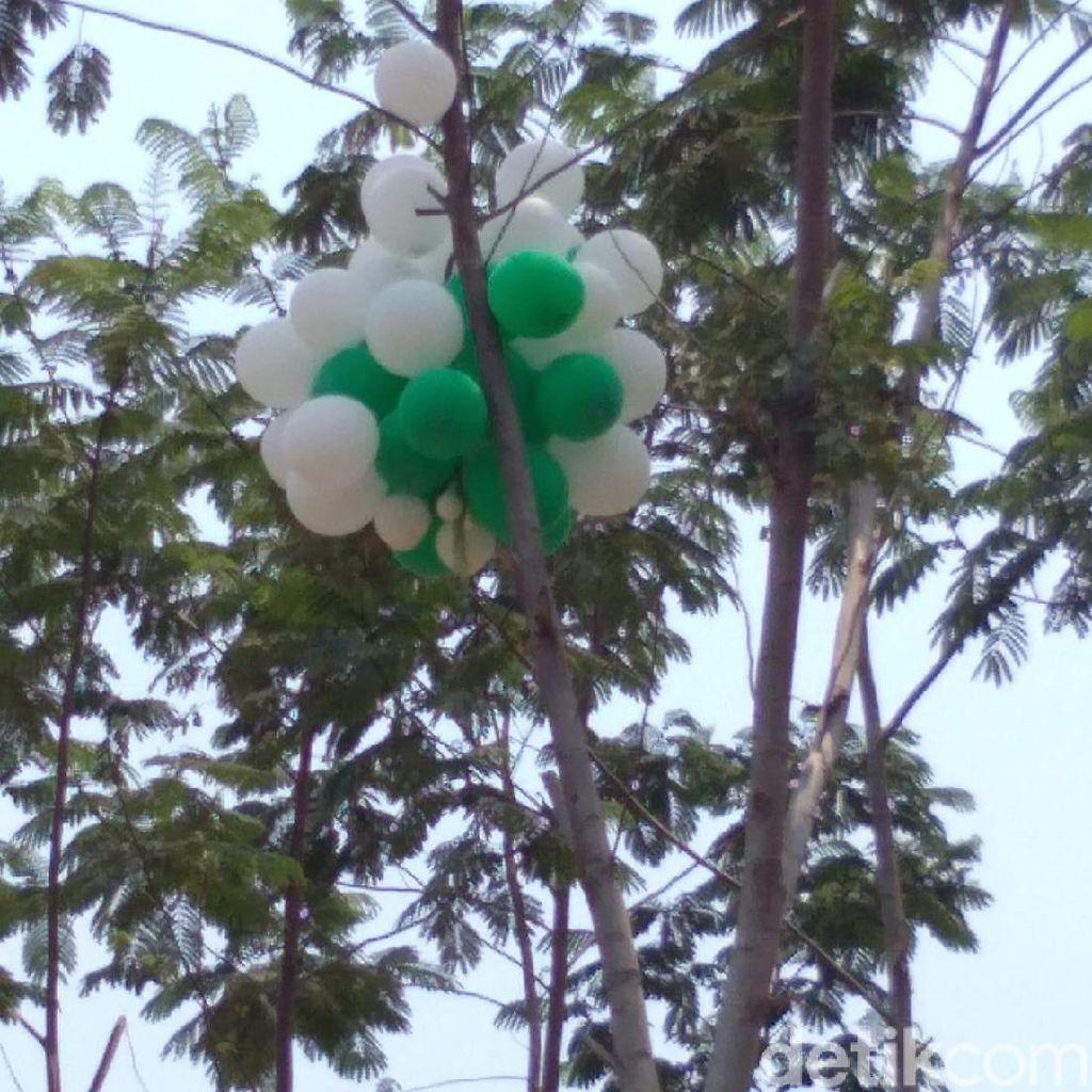 Balon Gas Meledak dan Lukai 8 Orang Direbutkan Karena Disangka Isi Uang