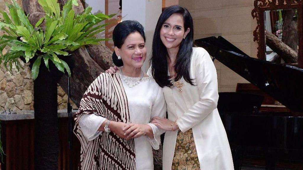 Gaya Loemongga, Istri Agus Gumiwang yang Akan Kembali Jadi Ibu Menteri