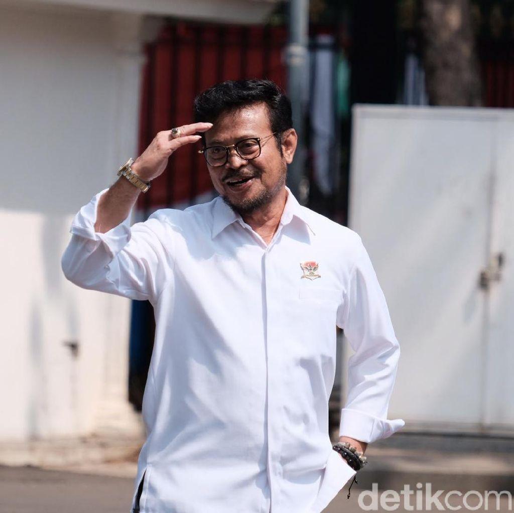 Dipanggil Jokowi, Syahrul Yasin Limpo Diajak Bicara Soal Pertanian