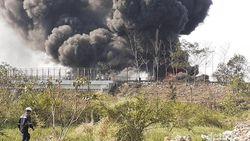 Kebakaran Pipa Pertamina Cimahi Diduga Akibat Bor Proyek Kereta Cepat
