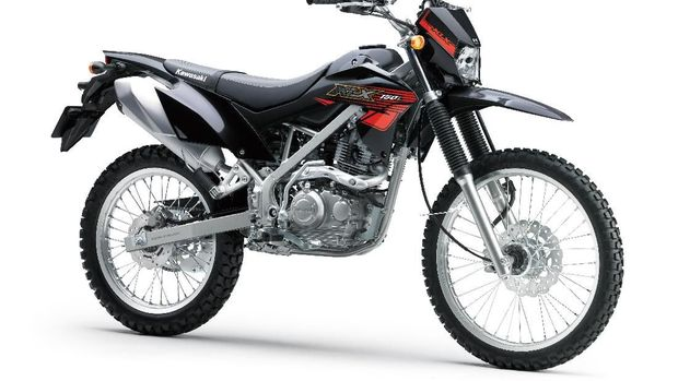 Kawasaki KLX150L Hitam