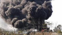 Pipa Pertamina Cimahi Meledak Dekat Permukiman, Warga Dievakuasi