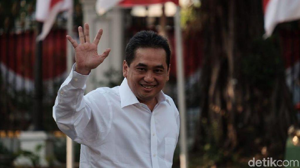 Bicara Ekspor dengan Jokowi, Agus Suparmanto Calon Mendag?