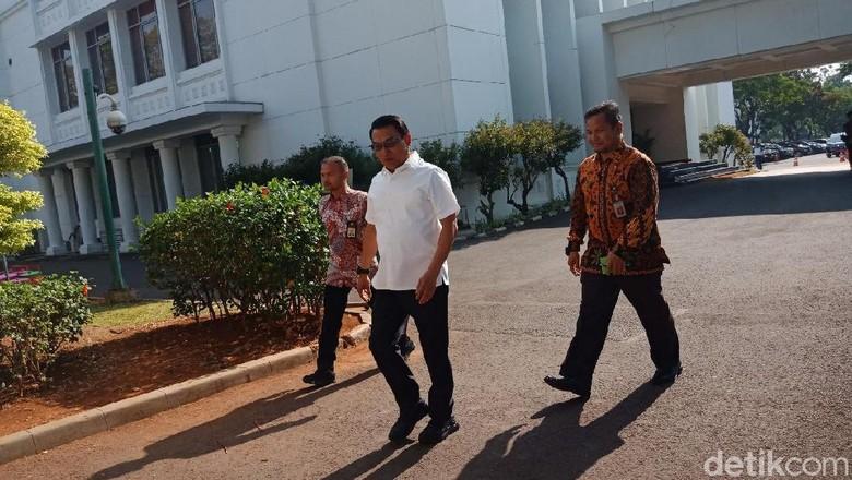 Sofyan Djalil-Moeldoko-Tjahjo Kumolo-Bambang Brodjo Merapat ke Istana