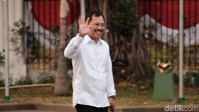 Foto: dr Terawan jadi Menteri Kesehatan. (Andhika Prasetia/detikcom)
