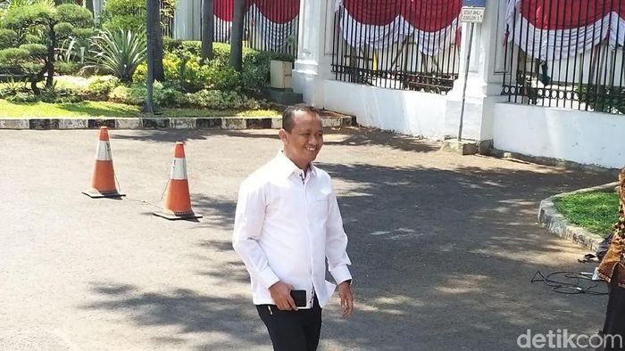 Foto: Bahlil Lahadilai Dipanggil ke Istana (Danang Sugianto/detikcom)