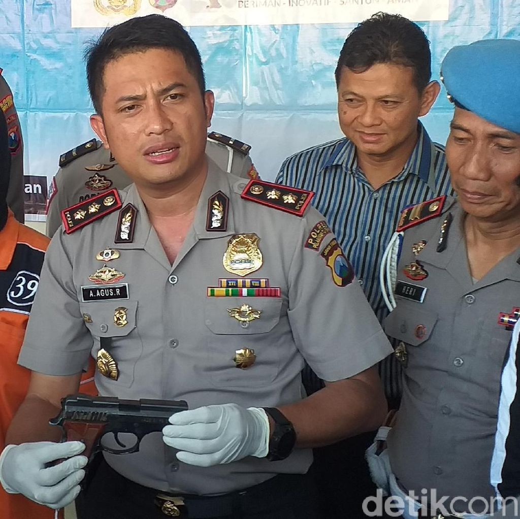 Selundupkan Pistol dari Taiwan, TKI Ini Diamankan di Pelabuhan
