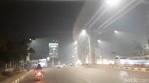 Kabut Asap Selimuti Palembang Malam Ini, Warga Mengeluh Sesak Napas