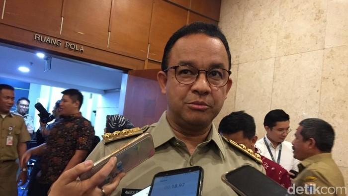 Gubernur DKI Jakarta Anies Baswedan. (Dwi Andayani/detikcom)