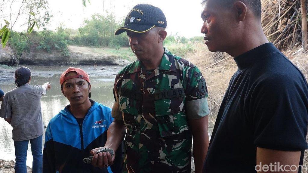 Seorang Warga Probolinggo Temukan Granat Saat Hendak Menjala Ikan