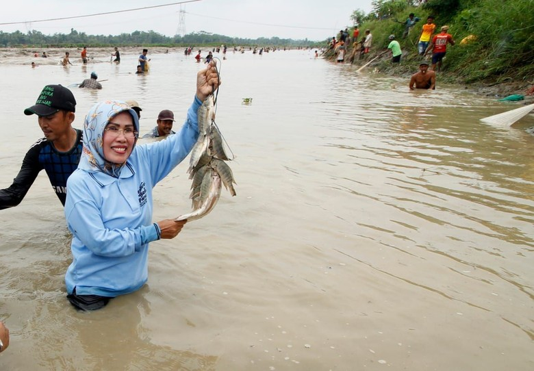 Ultah Kabupaten Serang ke-493, Warga Bakal Ramai-ramai Tangkap Ikan
