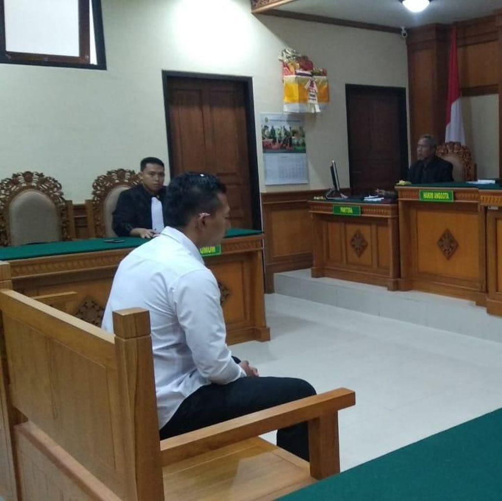 Sekuriti Penyiram Air Panas ke PRT di Bali Divonis 5 Tahun Penjara