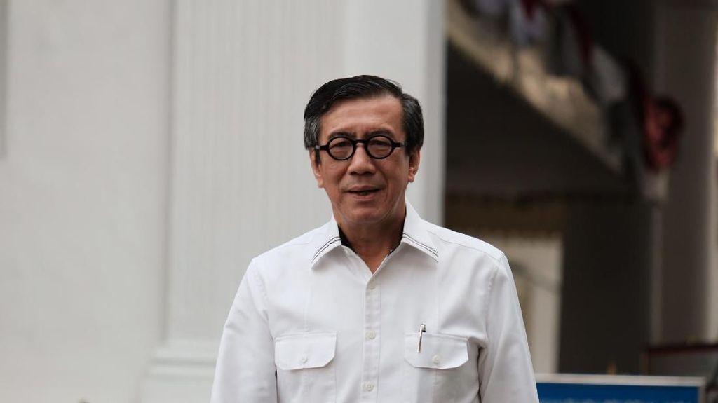 Jokowi Buka Peluang Koruptor Dihukum Mati, Menkum HAM: Masih Wacana