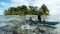 Negara kepulauan terkecil di dunia, Nauru, bebas dari Corona. Kalau mau masuk ke sana, pemeriksaannya sangat ketat. (AFP)