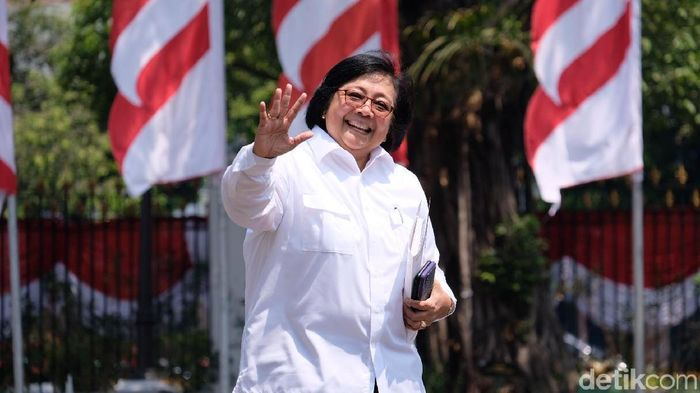 Foto: Siti Nurbaya tiba di Istana. (Andhika-detikcom)