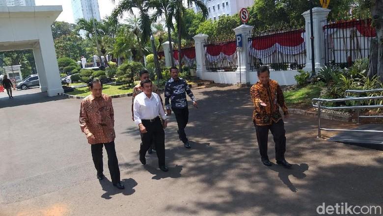 Ketua Bravo 5 Jenderal (Purn) Fachrul Razi Dipanggil Jokowi ke Istana