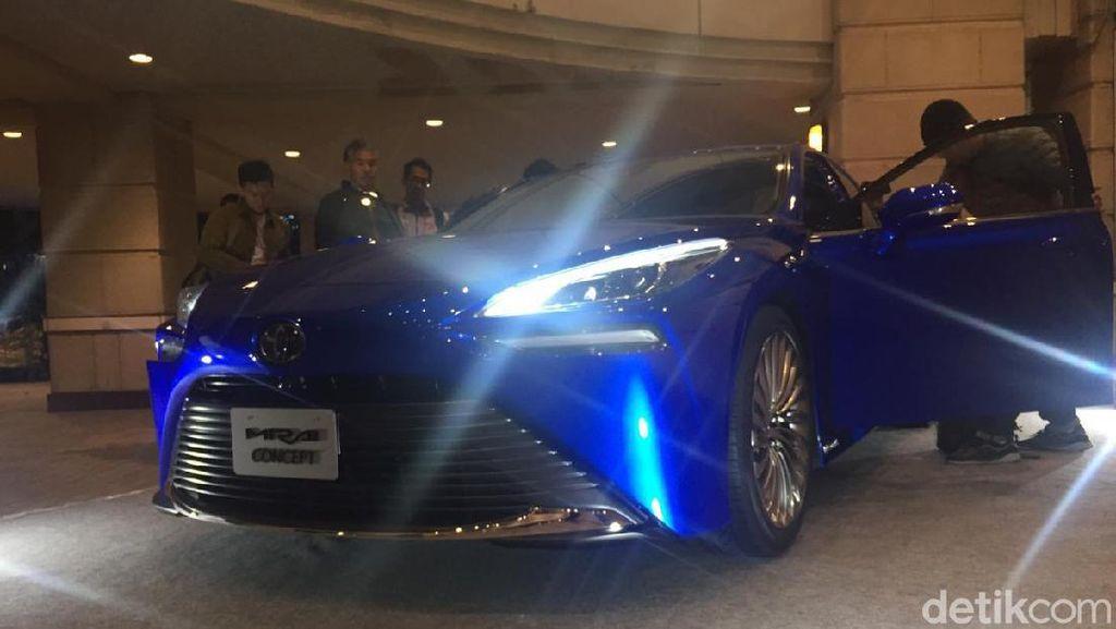 Mobil Masa Depan Toyota yang Aduhai Cantiknya