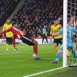Arsenal Tertinggal 0-1 dari Sheffield di Babak Pertama