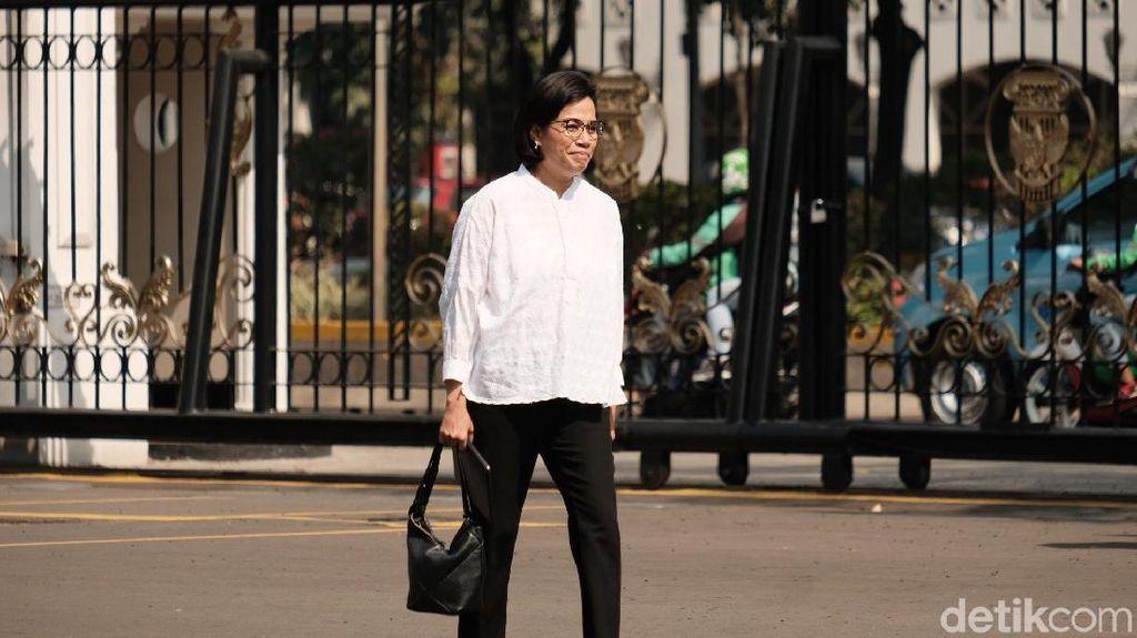 Sri Mulyani Dipanggil Jokowi ke Istana, Jadi Menteri Apa?