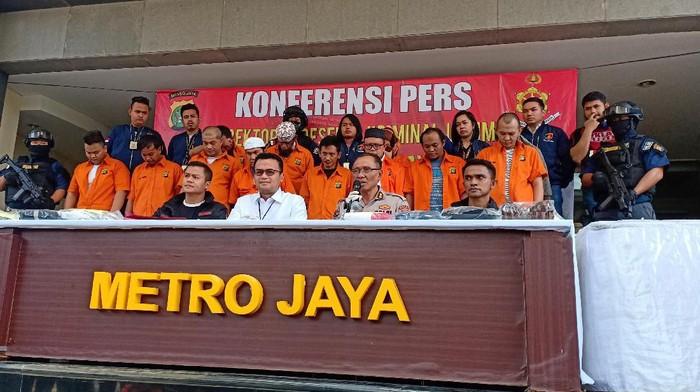 Konferensi pers kasus dugaan penganiayaan terhadap Ninoy Karundeng. (Samsudhuha Wildansyah/detikcom)