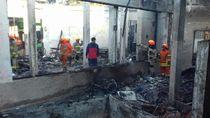 Terdengar 3 Kali Ledakan Sebelum Gedung Paskibraka Bandung Terbakar