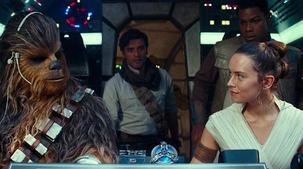 Ungkap Spoiler The Rise of Skywalker Berhadiah Burger