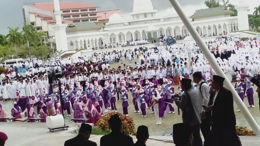 Hari Santri di Kepri Diperingati dengan Istigasah hingga Pawai Obor