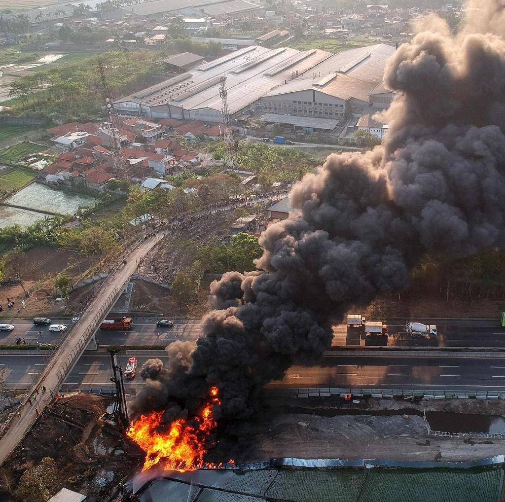Polisi Selidiki Kebakaran Pipa Pertamina di Proyek PT KCIC