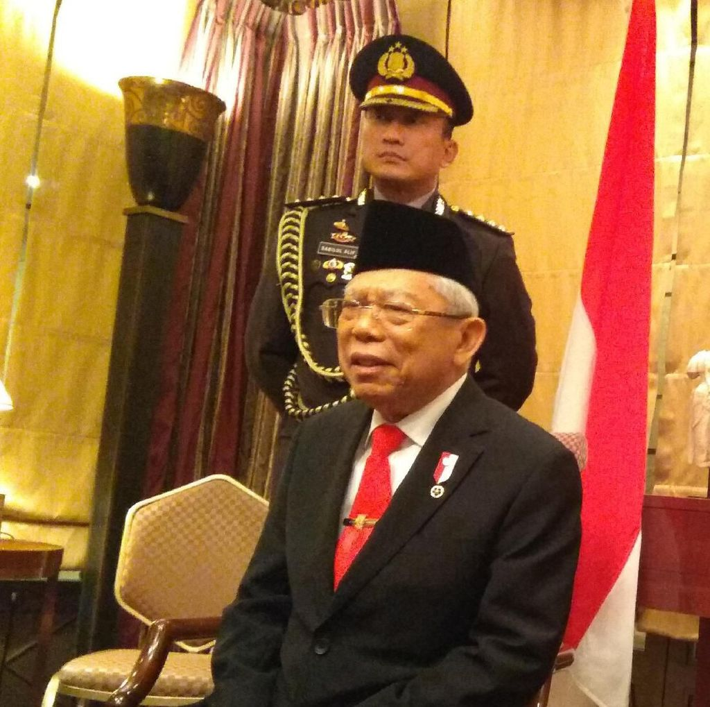 Usai Kunjungan di Jepang, Maruf Amin Tiba di Jakarta