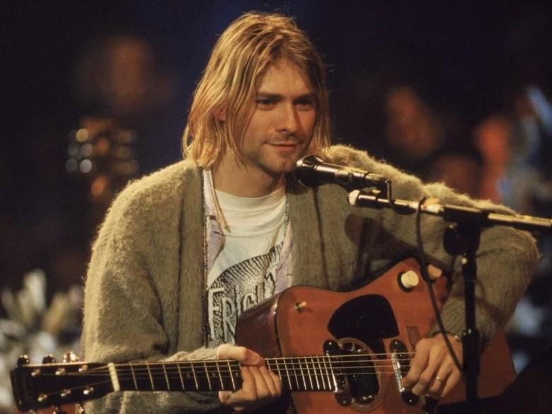 Kurt Cobain Foto: The Sun