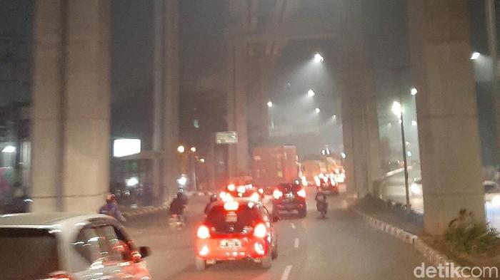 Kabut asap masih menyelimuti Palembang (Raja Adil Siregar/detikcom)