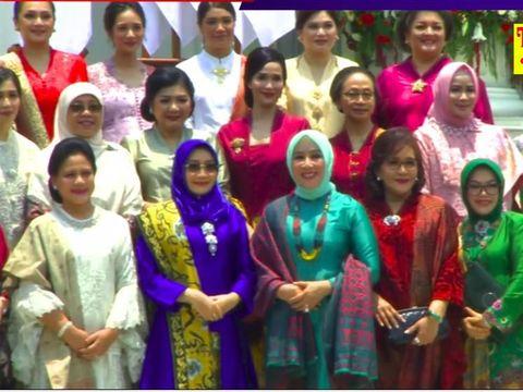 Gista Putri Curi Perhatian di Pelantikan Wishnutama Jadi Menteri