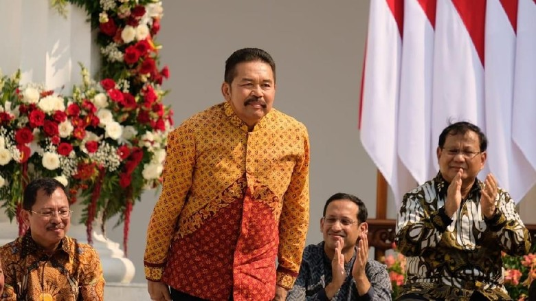 Jokowi Tunjuk ST Burhanuddin Jadi Jaksa Agung