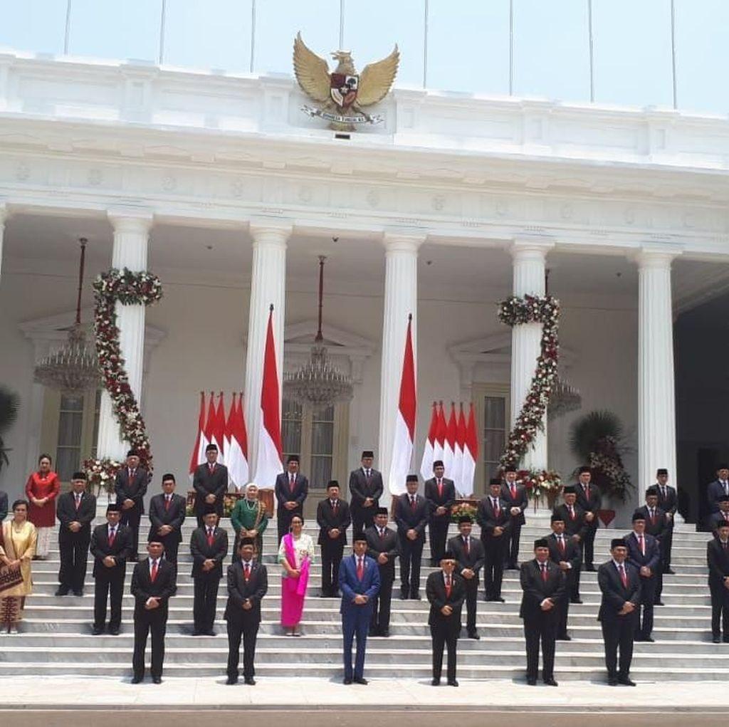 Jokowi Tak Beri Target 100 Hari Kerja untuk Kabinet Indonesia Maju