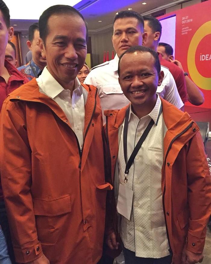Sosok Bahlil Lahadalia yang dulu sempat menjabat menjadi Ketua Umum Badan Pengurus Pusat Himpunan Pengusaha Muda Indonesia (HIPMI), menarik perhatian karena ia pernah menjadi sopir angkot. Foto: Instagram @bahlillahadalia