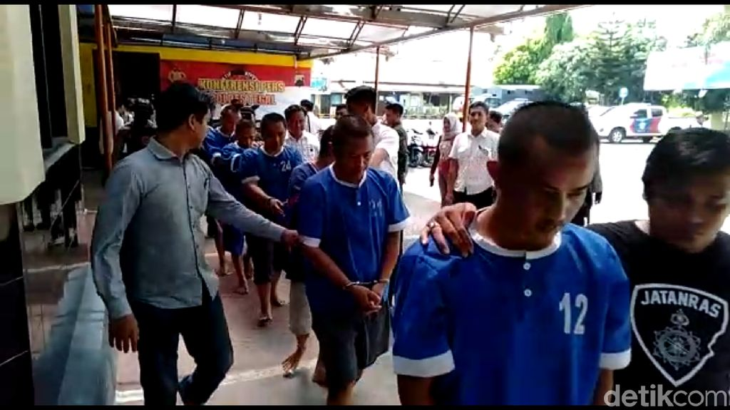 Komplotan Curanmor dan Pemalsuan STNK Diringkus Polisi di Tegal
