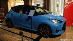 Yuk, Lihat Toyota Yaris JDM Model dari Dekat