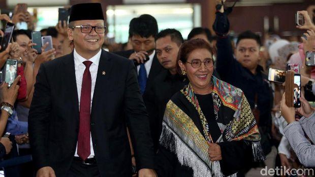 Edhy Prabowo dan Susi Pudjiastuti /