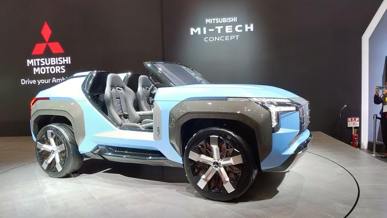 Mitsubishi MI Concept. Foto: Doni Wahyudi