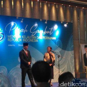 Keseleo Lidah, Edhy Prabowo: Ibu Susi Menteri Kelautan, Eh...