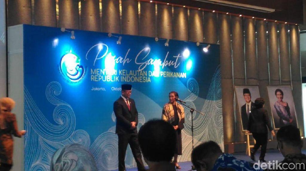 Keseleo Lidah, Edhy Prabowo: Ibu Susi Menteri Kelautan 2019, Eh...