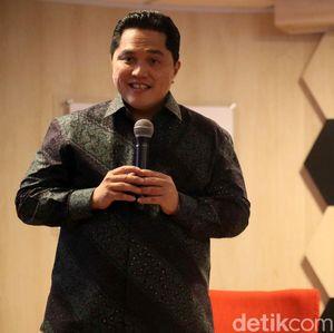 Erick Thohir Mau Angkat 4 Pejabat Baru Kementerian BUMN
