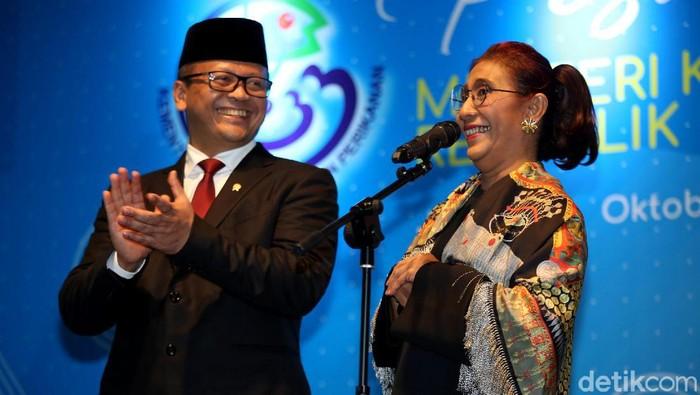 Edhy Prabowo dan Susi Pudjiastuti (Foto: Agung Pambudhy)