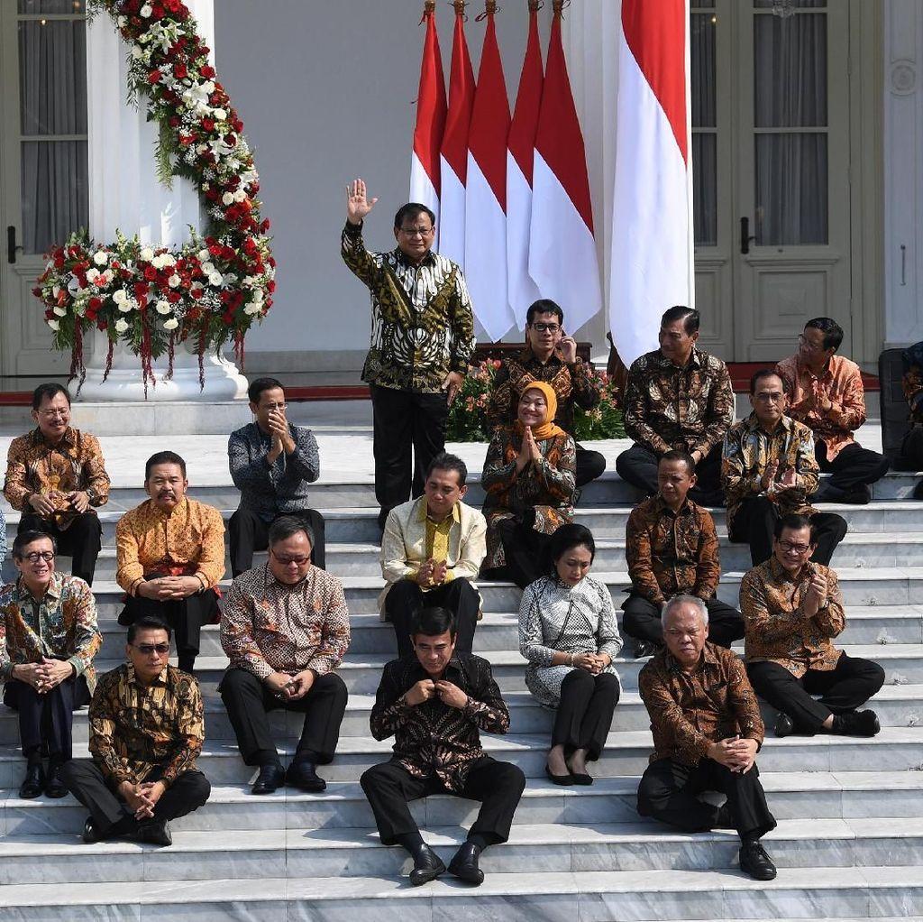 Komposisi Kabinet Jokowi: Profesional 59%, Parpol 41%