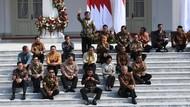 Komposisi Menteri Jokowi: Profesional 53%, Parpol 47%