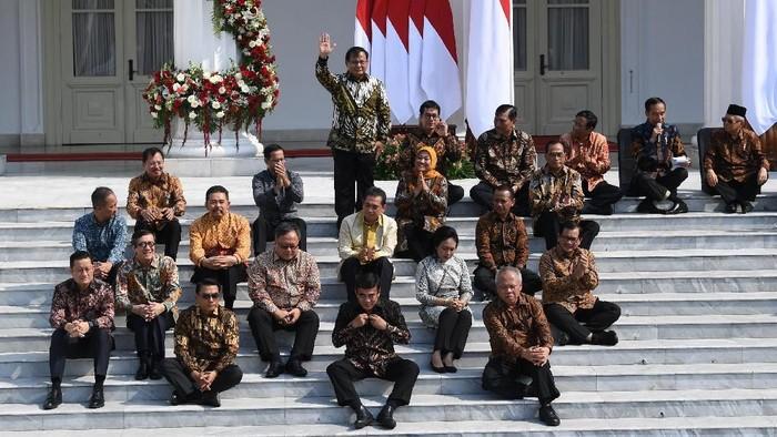 Kabinet Jokowi Jilid 2 siap bekerja (Foto: Wahyu Putro/Antara)